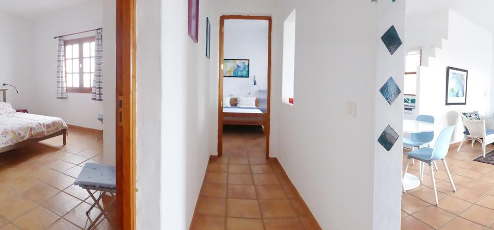 Lanzarote Ferienhaus Casa Azul Flur