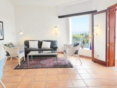 Lanzarote Ferienhaus Casa Azul Wohnbereich