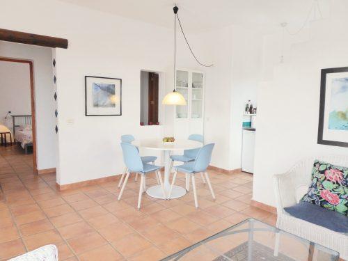 Lanzarote Ferienhaus Casa Azul Essbereich