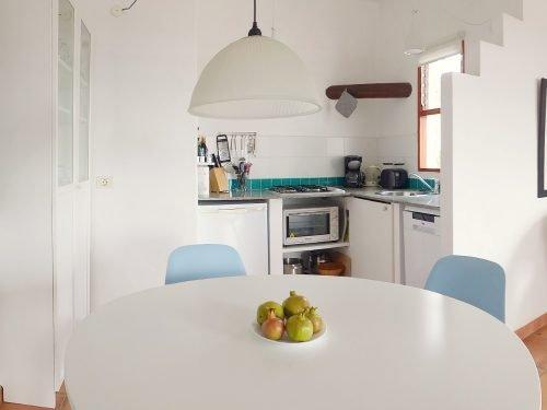 Lanzarote Ferienhaus Casa Azul Küche