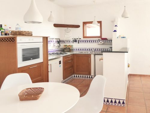 Lanzarote Ferienhaus Casa Blanca Küche