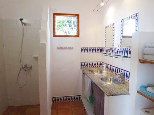Lanzarote Ferienhaus Casa Blanca Bad