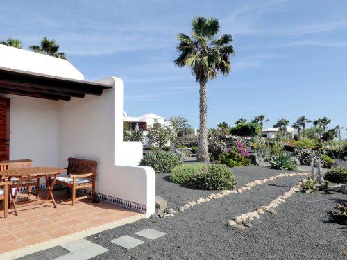 Lanzarote Ferienhaus Casa Blanca Terrasse