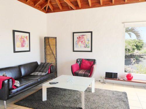 Lanzarote Ferienhaus Miramar Casa Wohnzimmer