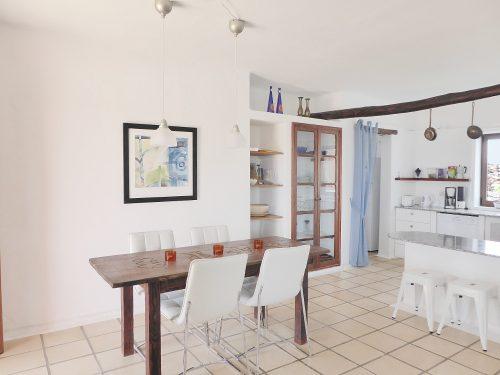Lanzarote Ferienhaus Miramar Casa Essbereich