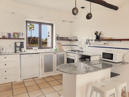 Lanzarote Ferienhaus Miramar Casa Küche