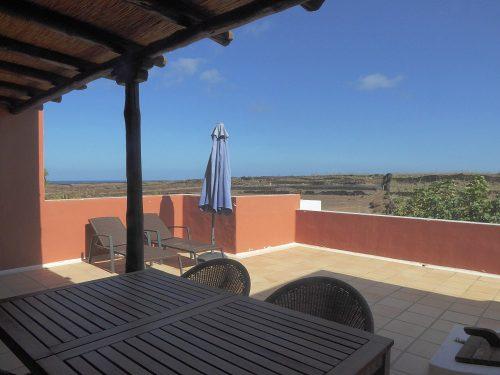 Lanzarote Ferienhaus Miramar Casa Terrasse Meerblick