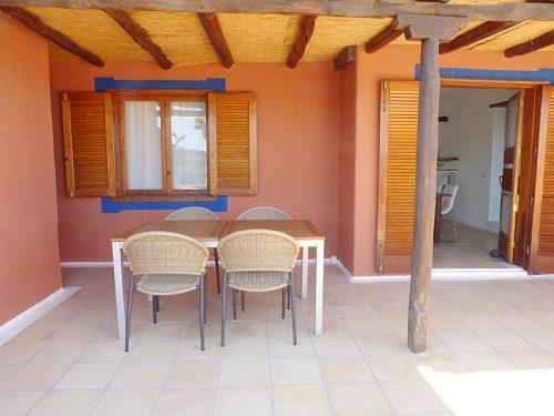 Lanzarote Ferienhaus Miramar Casa Terassentisch