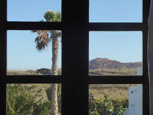 Lanzarote Ferienhaus Miramar Casa Blick aus Schlafzimmer 2