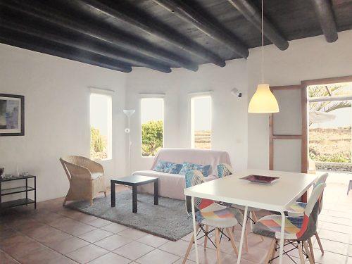 Lanzarote Ferienhaus Miramar Casita Wohnzimmer