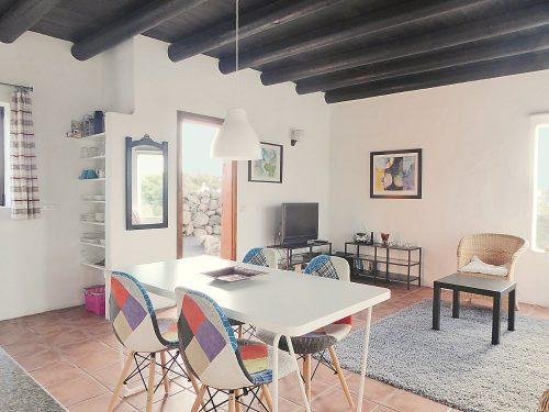 Lanzarote Ferienhaus Miramar Casita Wohnbereich