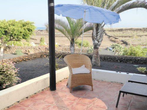Lanzarote Ferienhaus Miramar Casita Terrasse