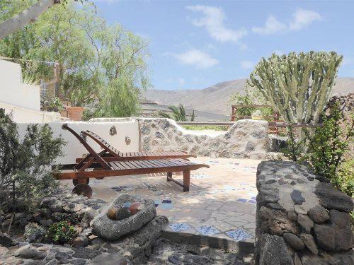 Lanzarote Ferienwohnung El Campo Terrasse