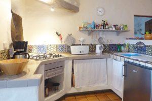 Lanzarote Ferienwohnung El Campo Küchenzeile
