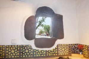 Lanzarote Ferienwohnung El Campo Küchenfenster