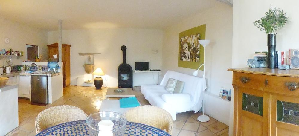 Lanzarote Ferienwohnung El Campo Wohnbereich