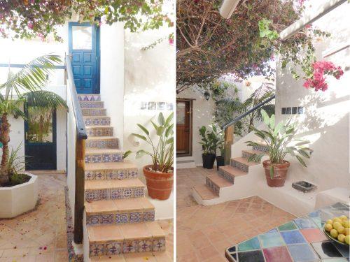 Lanzarote Ferienwohnung El Patio Patiotreppe