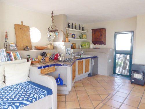 Lanzarote Ferienwohnung El Patio Küchenzeile
