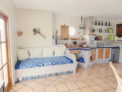 Lanzarote Ferienwohnung El Patio Sitzbank