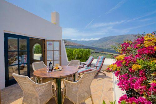 Lanzarote Ferienwohnung El Patio Terrasse